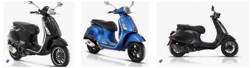 Vespa goes electric rijden
