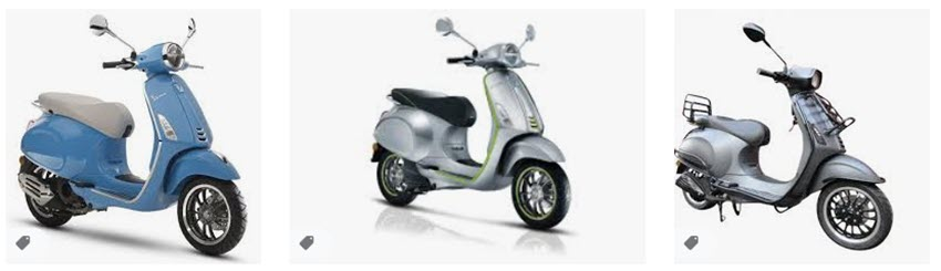 Vespa is wesp scooters